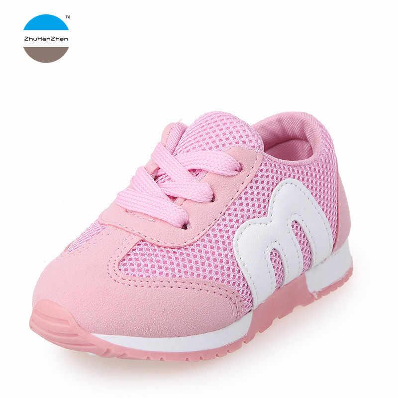 5d66ad759bf6 2018 Весна от 0 до 7 лет модные детские кроссовки для маленьких мальчиков и  девочек повседневные