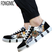 Spring Summer Men Canvas Shoes Mixed Colors Style Fashion All Match Dailycasual Shoes Wear Comfortable Popular