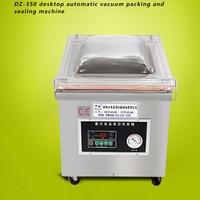 Free Shipping By DHL 1pc DZ 350 Desktop Vacuum Sealer Food Vacuum Packaging Machine Desktop Vacuum