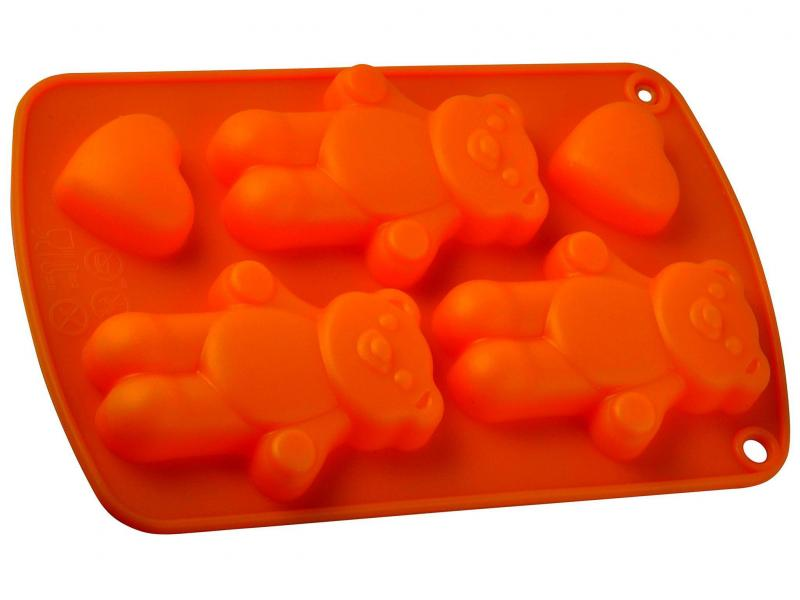 Mold for baking REGENT INOX, SILICONE, Three Bears, 21*13*2 cm mold for baking regent inox silicone rhino 15 11 4 5 cm