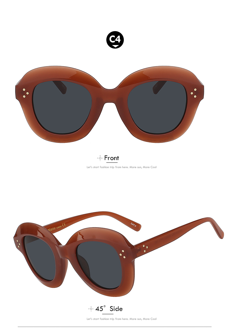 Oversize Vintage Sunglasses