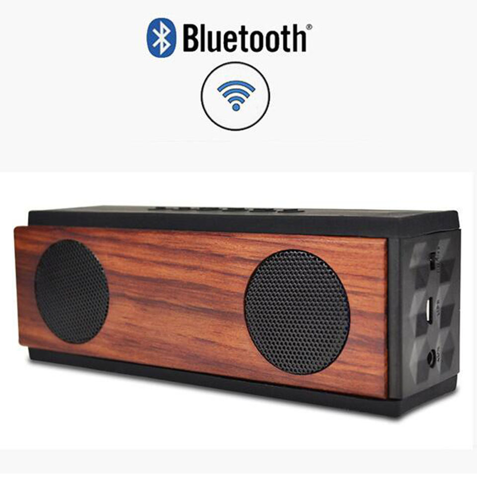 Wireless Mini Bluetooth Speaker Wood Portable Subwoofer Bluetooth Hifi System Column Bass USB TV Gbl Soundbar Desktop SpeakerWireless Mini Bluetooth Speaker Wood Portable Subwoofer Bluetooth Hifi System Column Bass USB TV Gbl Soundbar Desktop Speaker