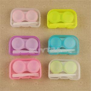 1 Set New Arrive Plastic Contact Lens Case Travel Kit Easy Take Container Holder