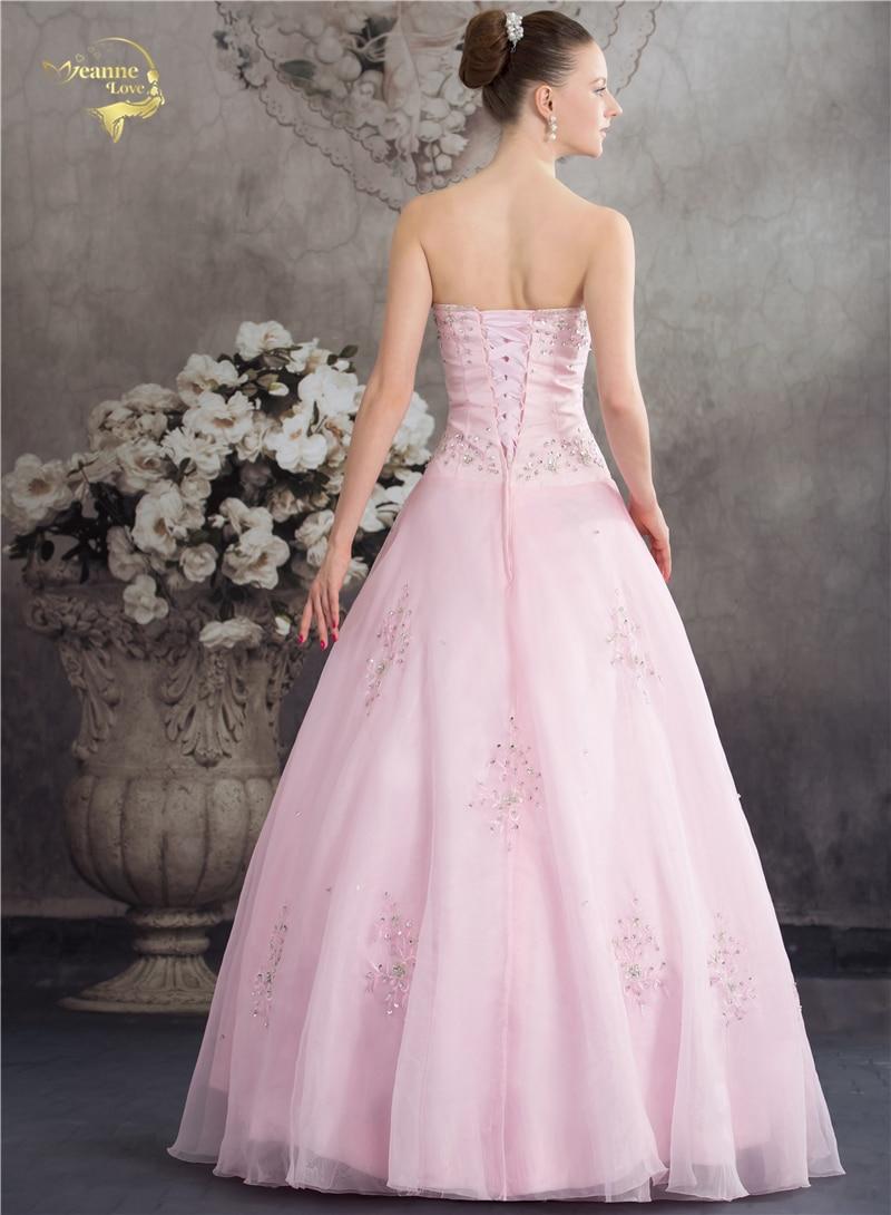 Vestido De Debutante Klasični stil Dušo Plava Ružičasta Crta - Haljina za posebne prigode - Foto 2
