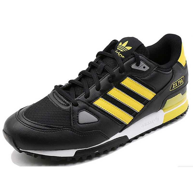 Conception innovante 72793 ec34e Official Adidas Originals ZX 750 Men Skateboarding Shoes Sneakers Classique  Shoes Platform Breathable Hard-Wearing S76193/S76194