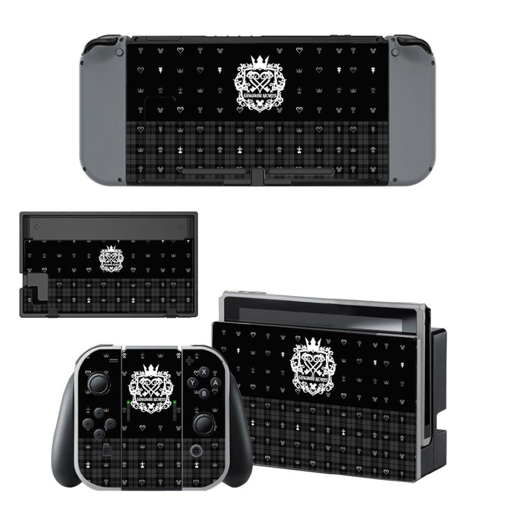 Купить с кэшбэком Nintend Switch Vinyl Skins Sticker For Nintendo Switch Console and Controller Skin Set - Game Kingdom Hearts 3