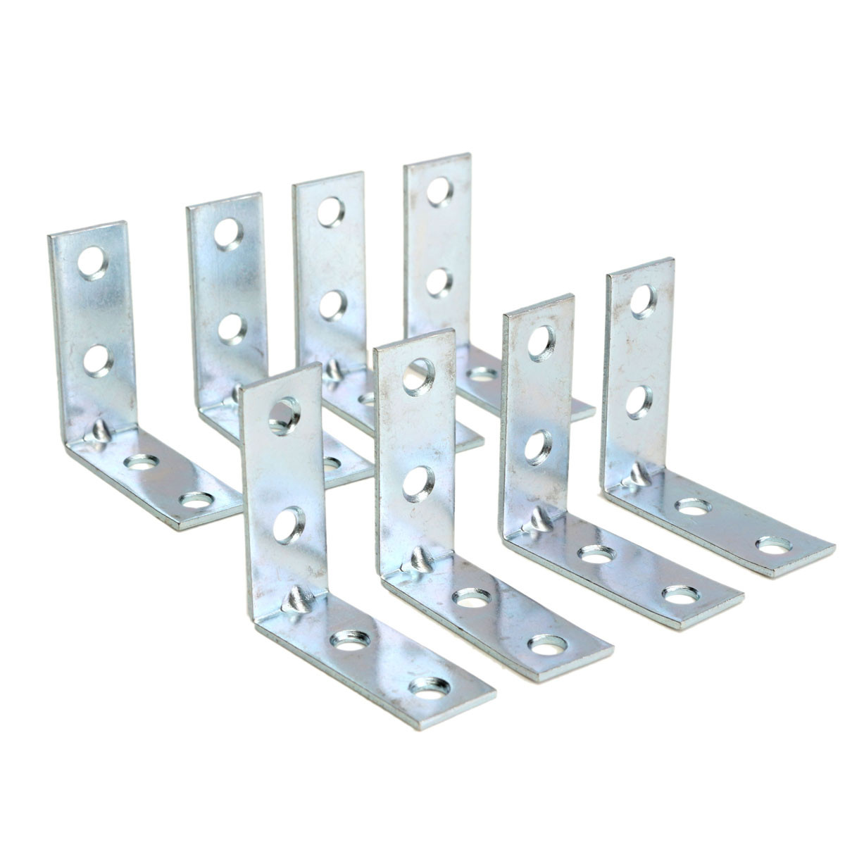 8pcs 40mm l shaped right angle corner support fixing for House brackets