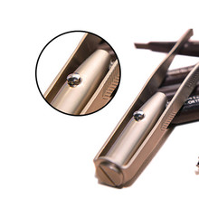 2019 Best Seller!!! New Professional Makeup Tool LED Eyebrow Tweezer M