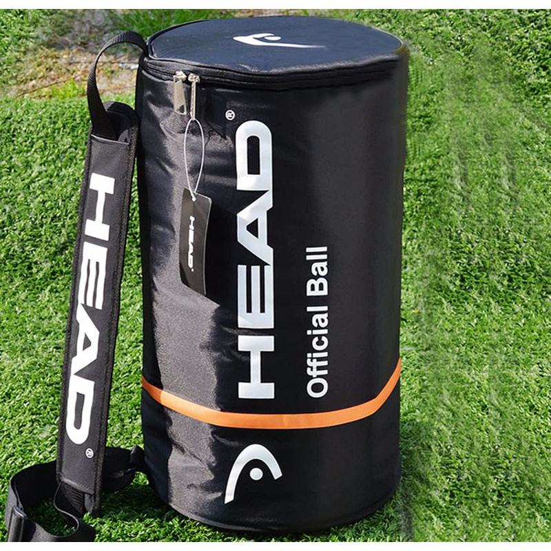 Head Offical Tenis Ball Bag Large Capacity 100pcs Bolsa Single Shoulder For Tennis Racket Sports Outdoor Training Accessories