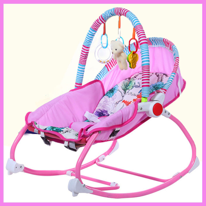 Baby Music Nursery Rocking Chair Child Toy Rocking Chair Baby Rocking Horse Infant Seat Bouncer Swing Cradle Recliner Bouncer baby rocker stroller newborn baby rocking hose swing chair cradle portable baby bouncer toddler sleeping lounge seat recliner