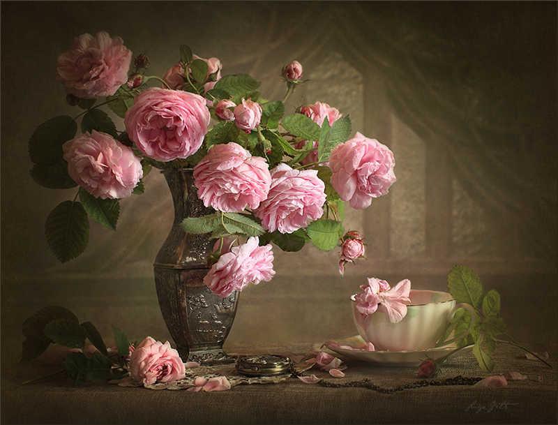 Картинки розы в натюрмортах