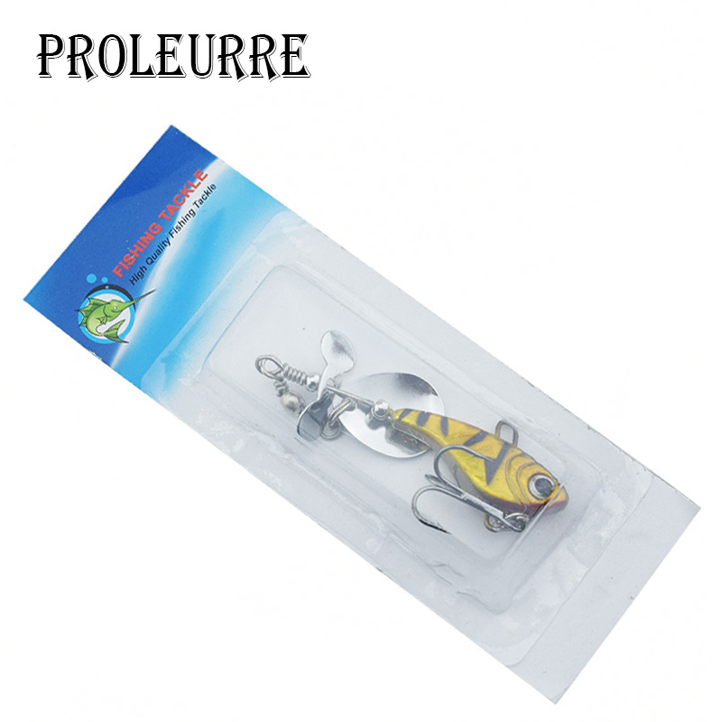 1Pcs Metal Hard Fishing Jig Head Wobbler Fishing Lures 18g Spinner spoon Baits With Propeller Fishing Tackle Pesca Isca