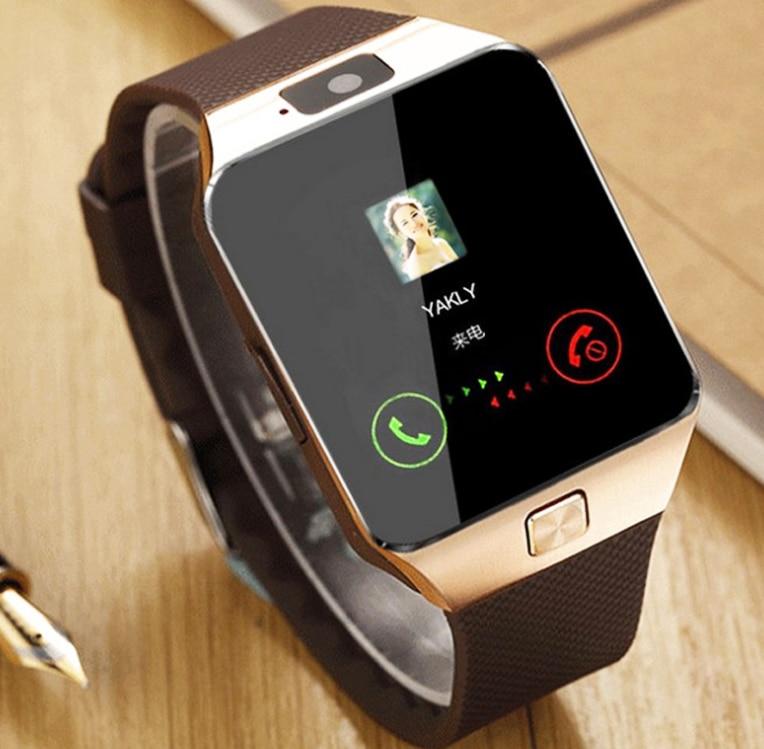 Relógio inteligente dz09 sim telefone relógio bluetooth smartwatch apoio tf cartão gsm chamada bluetooth 3.0 para samsung telefone android pk gt08