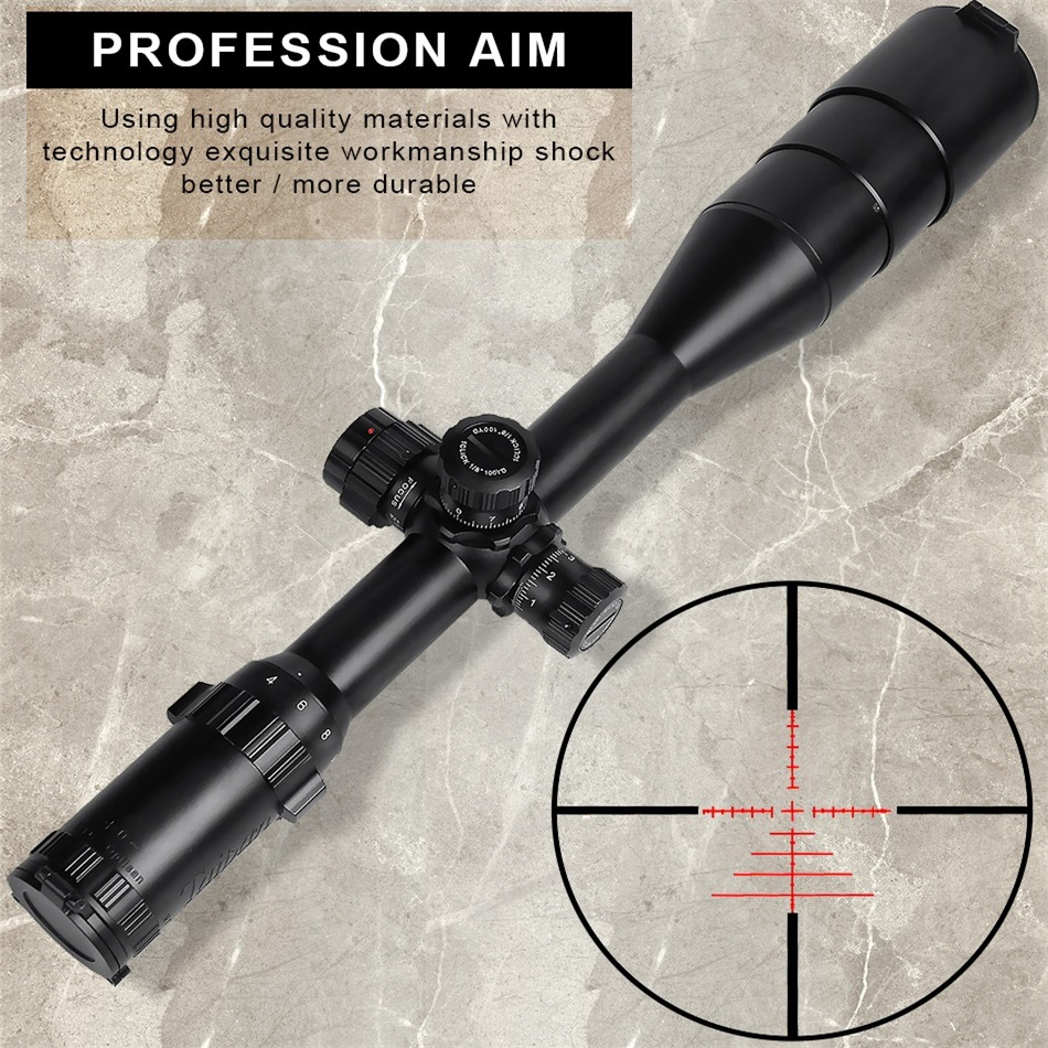 MTC 4-16X50 Tactical RiflesScope For AirRifle Sniper Hunting Optics Sight  Riflescope And Shooting&outdoors Airsoft Gun Use