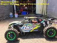 MadMax Giant Grip Wheel Sets For Losi DBXL and Losi DBXL E Losi Desert Buggy do not include the rc car