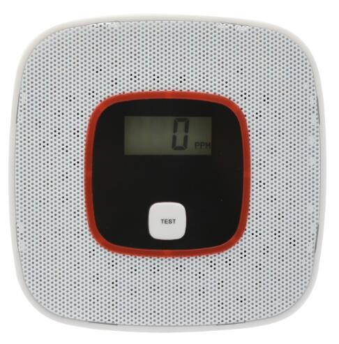 FDL CO detector home security safety Alarm  LCD Ph...