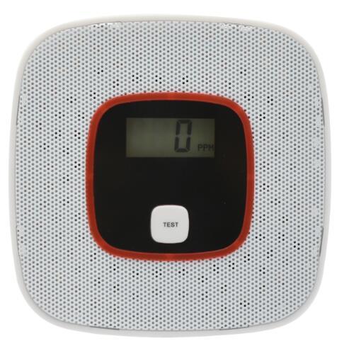 FDL CO detector Fotoelétrico Independent home security Alarme de segurança LCD CO Monóxido de Carbono Envenenamento Sensor de Gás Detector de Alarme