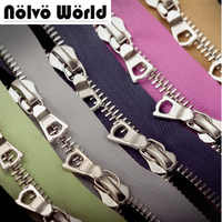 15 yards 63 kinds colors,5# two way customize color DIY metal zipper accessories for bags,garments