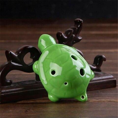 Buy 6 Holes Ocarina Cartoon Tortoise Ocarina Flute Wind Musical Instruments Flute Zelda Ceramic Flauta For Childen Toy Ocarina — stackexchange