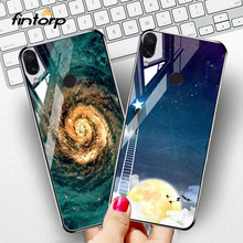 Case For Xiaomi Redmi 7 Cases Tempered Glass for Note Pro Star Space Covers Coque On Mi 9 SE Bumper