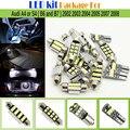 15 x Paquete de Kit de Canbus Bombillas LED Interior Del Coche 2835 Chip LED Blanco Para Audi A4 S4 (B6 y B7) 2002 2003 2004 2005 2007 2008