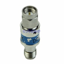 SMA male to female Stainless steel RF Coaxial DC block 6000MHz 50ohms