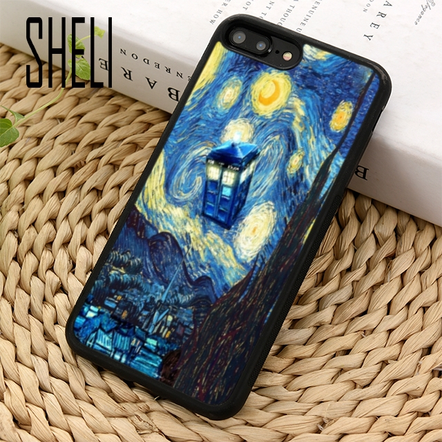 Orderly Sheli Doctore Who Tardis Rubber Phone Case Cover For Iphone 6 6s 7 8 Plus X Xr Xs Maxs Se Samsung Galaxy S6 S7 Edge S8 S9 Plus Phone Bags & Cases