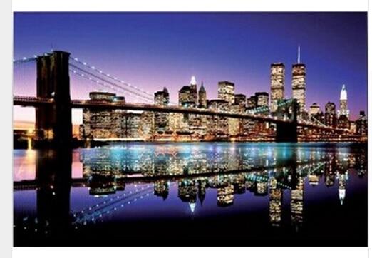 Custom poster color brooklyn bridge print 20x30 inch room posters home decors window poster wallpaper
