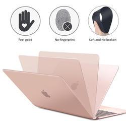 Матовая матовый полный чехол для ноутбука MacBook Air 13 A1932 ID Pro retina 11 12 15 Обложка Touch Bar 2018 Новый A1706 A1707 A1989 A1990