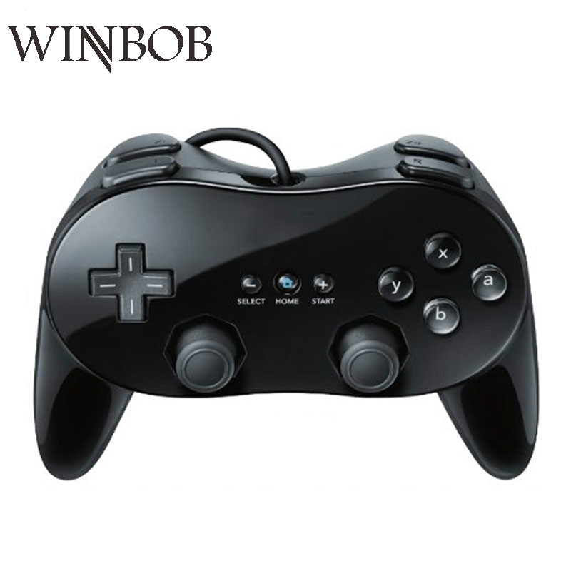 WINBOB Classic Wired Game Controller Gaming Remote Pro Gamepad Shock controle Joystick For Nintend For Wii