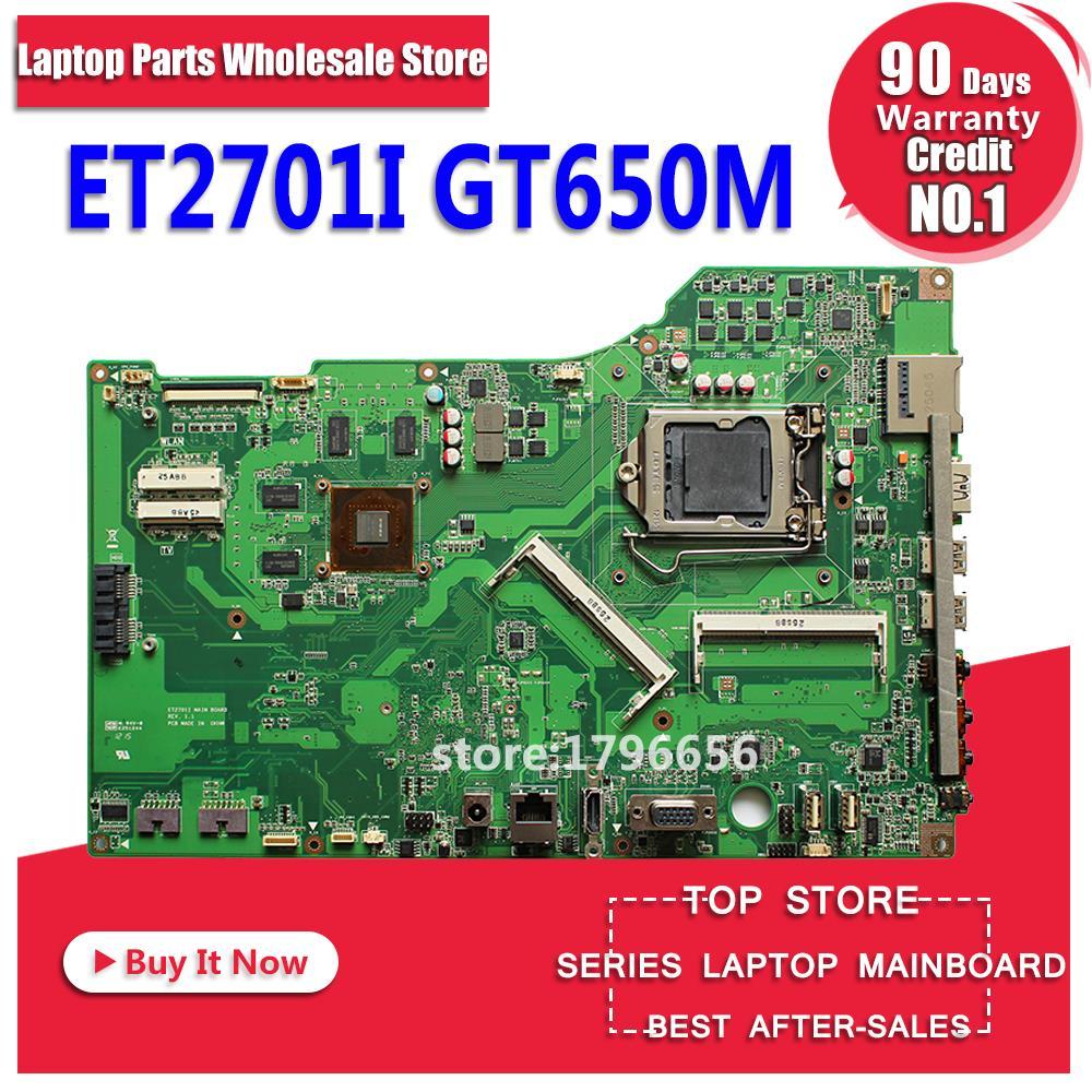 ET2701I Carte Mère GT640M LGA1155 DDR3 Pour ASUS ET2701I ET2701 Mère d'ordinateur portable ET2701I Carte Mère ET2701I Carte Mère test ok