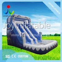 Inflatable water kids slide with a small pool for sale