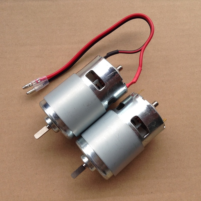 1PCS D Axis 775 Motor High Speed Large Torque DC 12V 10000RPM Micro Motors for RC Model 5mm Shaft Bearing Tools mpx010 high speed 18000rpm coreless motors silver dc 3v 2 pcs