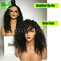 7a glueless full lace wigs for black women human hair lace front ponytail wigs with baby hair affordable human hair women's wigs