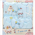 2016 новых осенью и зимой новорожденного подарочные комплект новорожденных девочек одежда толстый хлопок теплый мальчик одежда / мальчик 5 шт./лот