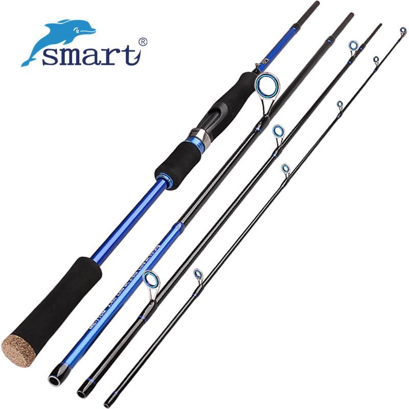 Carbon fiber spinning fishing rod medium lure for Boat fishing rods
