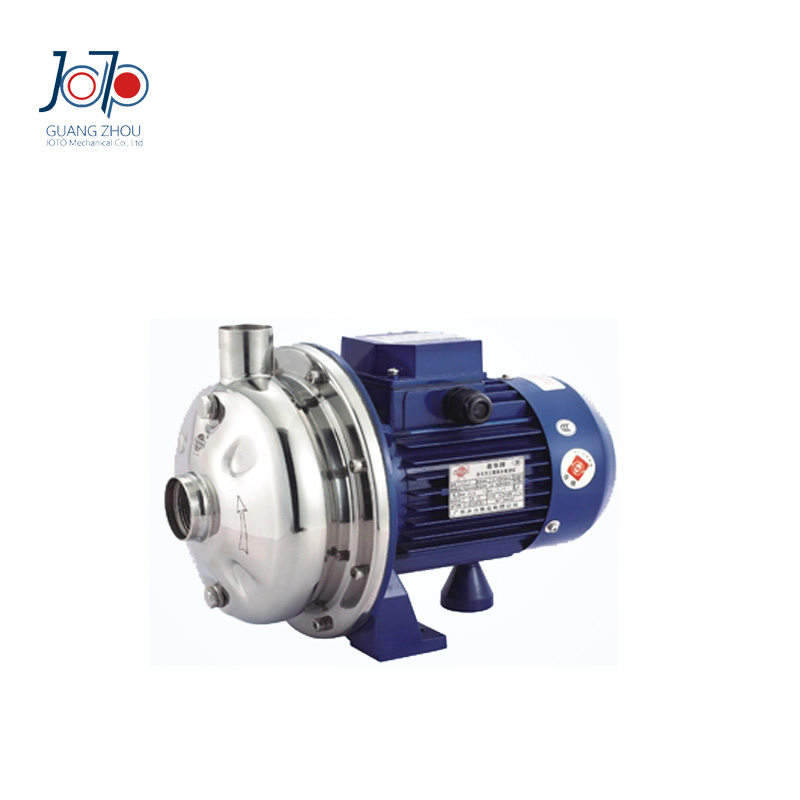 WB120/075 380V 50Hz Three Phase Micro High Pressure Dishwasher Use Stainless Steel Centrifugal Pump with BSP Thread Connector 1 2hp 220v 50hz single phase small stainless steel centrifugal water pump sanitary pump beverage pump dishwasher pump
