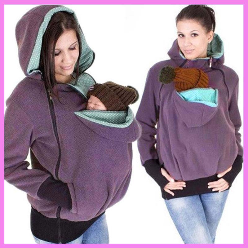 Europe Style Multifunctional Presenting Mother Kangaroo Baby Carrier Coat Front Facing Backpack Carrier Wrap Sling Kangaroo Bag ...