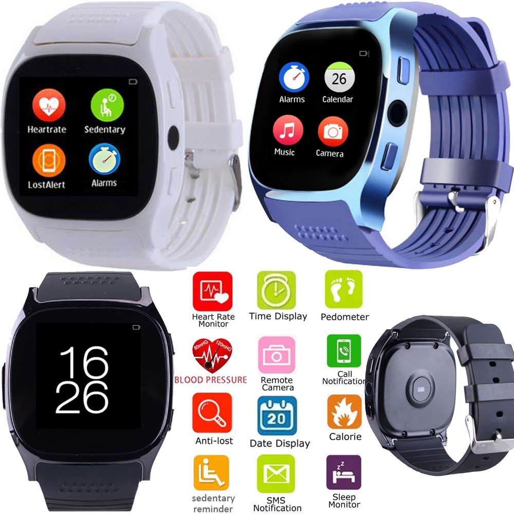 Bluetooth Smart Watch With Heart Rate Monitor Blood Pressure Men Women Boys Girls Wristwatch for Android IOS Samsung iPhone LG