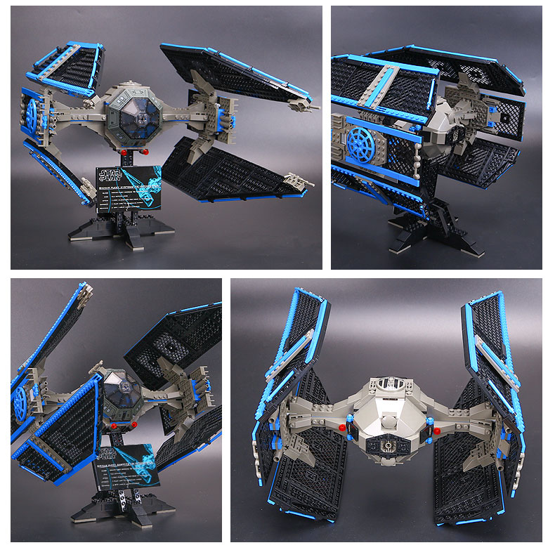 Star Series Wars Building Block 05044 The TIE Interceptor Compatible with Legoing 7181 Toys For Children 6