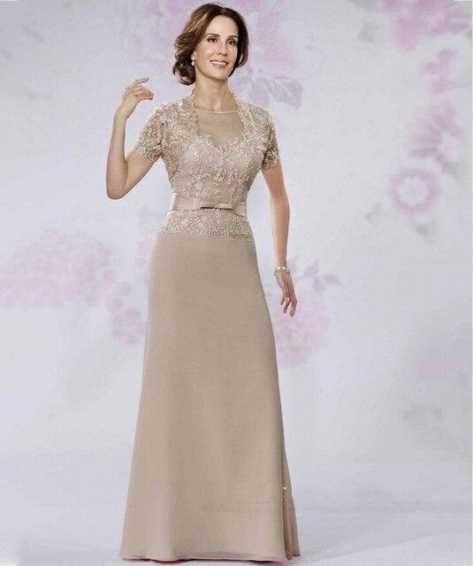 Урожай 2016 мать невесты платье для свадьбы ну вечеринку с курткой кружева Vestido де Madrinha женщины невеста вечерние платья