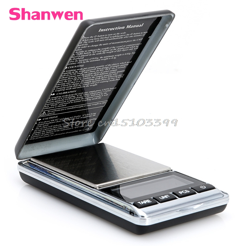 1000g x 0.1g Digital Scale Mini Electronic Jewelry Pocket Diamond Jewelry Gram G08 Drop ship