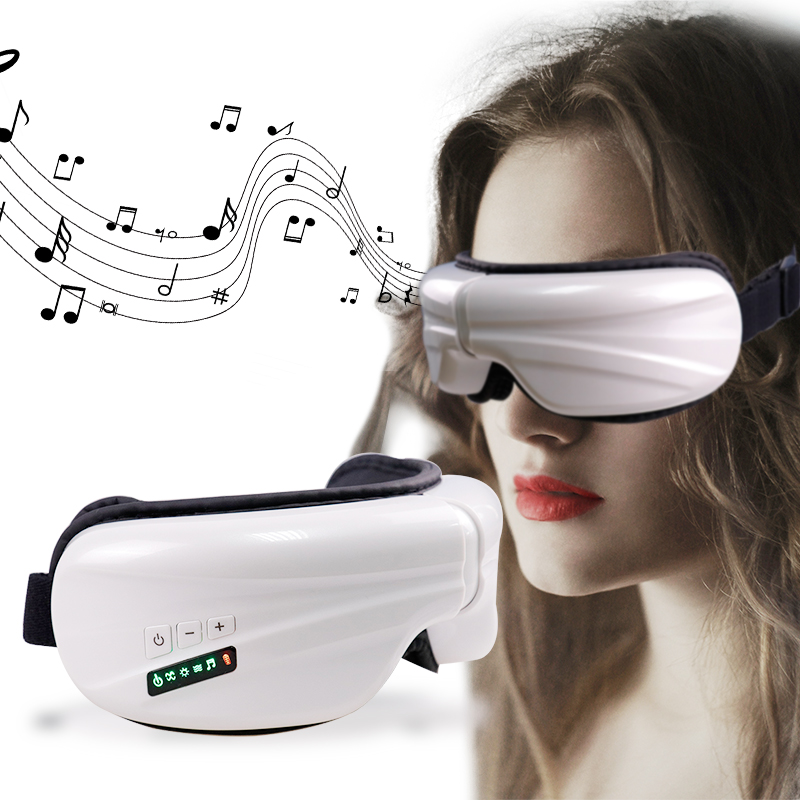 Electric Smart SPA Wireless Eye Massager Air Compression Eye Massage Heating Therapy massage relax Air Pressure Eye Care DeviceElectric Smart SPA Wireless Eye Massager Air Compression Eye Massage Heating Therapy massage relax Air Pressure Eye Care Device