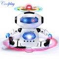 Coolplay CP99444-2 Danza Espacio Robot Inteligente Electronic Walking Juguetes Con Música Ligera Astronauta de Juguete para Niños de Regalo Para Los Niños