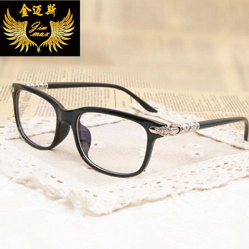 Moda mujer ojo gafas estilo retro hombres anteojos marco óptico ...