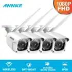 ANNKE 2X 4X FHD 1080P IP WiFi Draadloze Video Bewakingscamera Bullet Weerbestendige Camera 100ft Nachtzicht Met smart IR
