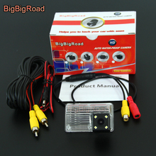 BigBigRoad Car Rear View Backup CCD Camera For Toyota Blade Auris MK1 E150 2006 2007 2008 2009 2010 2011 2012 Allion Premio