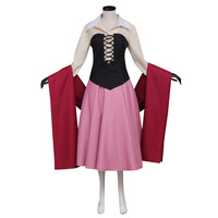 Sleeping Beauty Princess Aurora Dress Adult Women's Halloween Cosplay Costume Custom Made