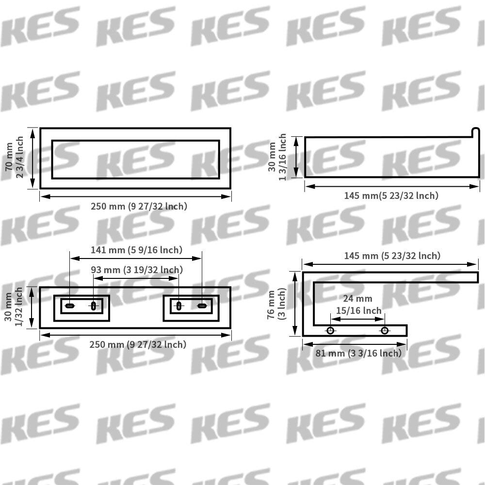 KES Bathroom Accessories Toilet Paper Holder/Towel Ring SUS304 ...