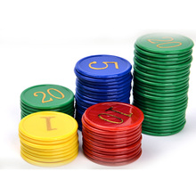 160 pcs Poker Chips SET Good Quality ABS Plastic Chips
